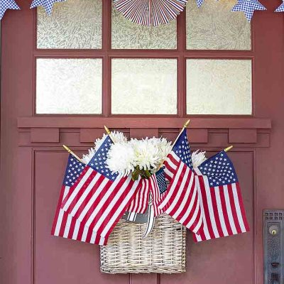 Front Porch Ideas for 4th of July