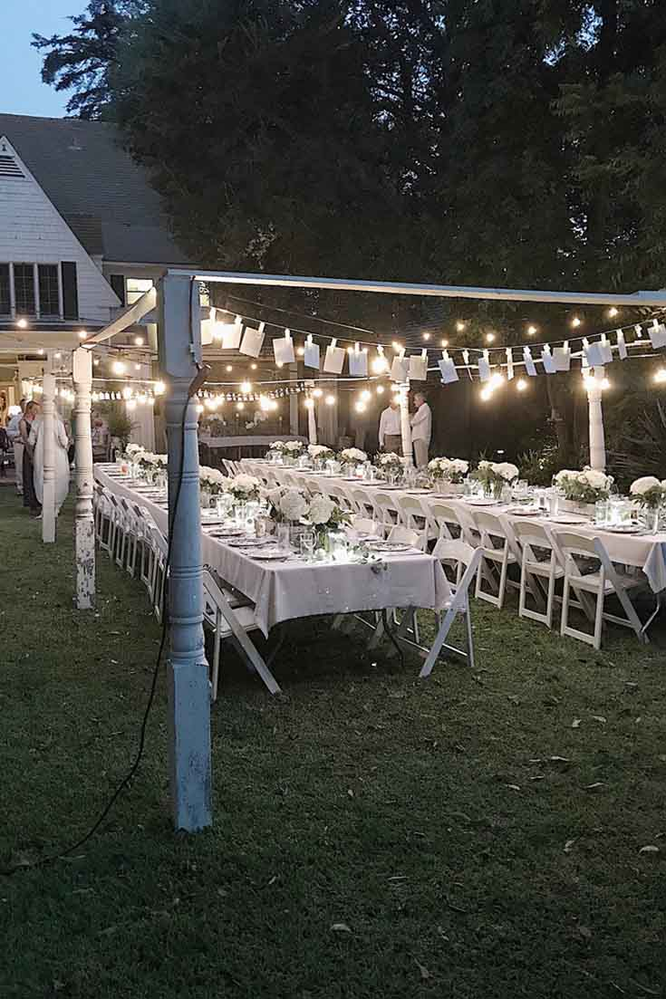 Outdoor Engagement Party