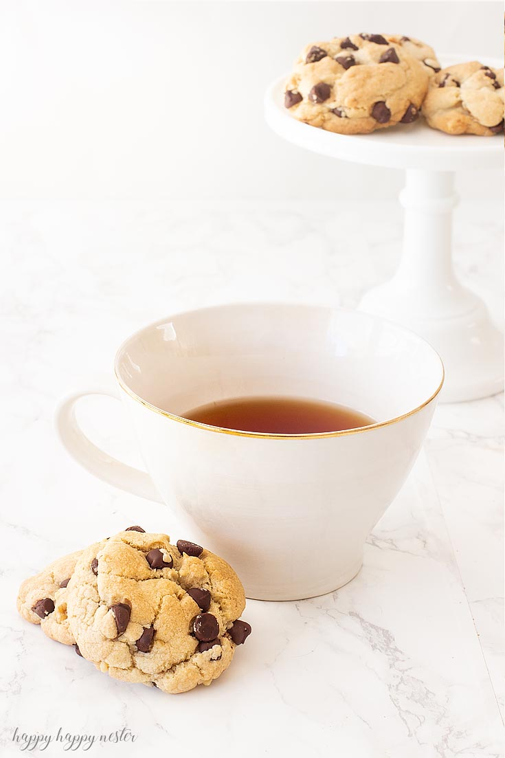 I'm certain you have never had a chocolate chip cookie like this one! This is the Best Crunchy Crispy Chocolate Chip Cookie that I remember from my childhood. If you like a chunky cookie packed with chocolate chips then you'll absolutely love this recipe. #cookie #chocolatecookie #baking #cookierecipe #bestcookie #bestchocolatechip