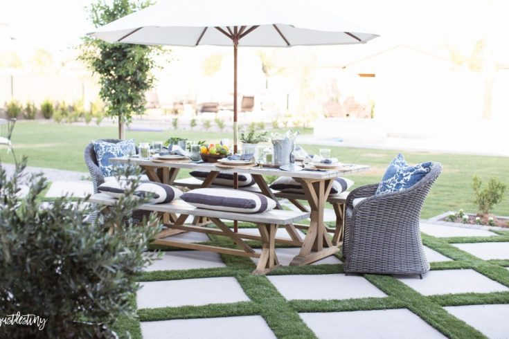 Get some beautiful summer backyard inspirations in this roundup post.