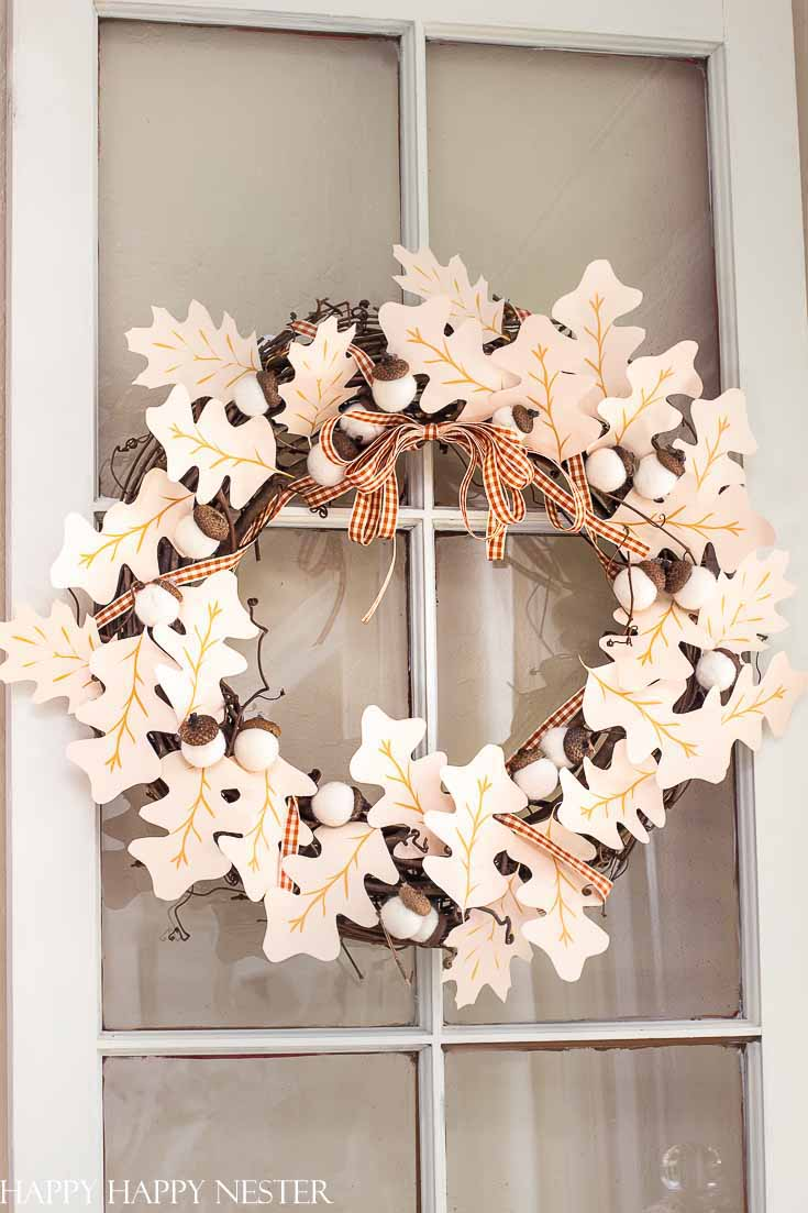 Fall Wreath Ideas Diy Happy Happy Nester