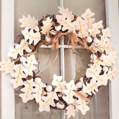 Fall Wreath Ideas DIY