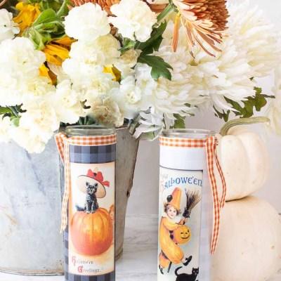 DIY Halloween Decor: Printable Candle Label