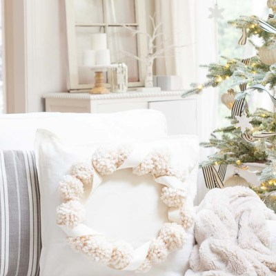 Christmas Pillow Craft Project