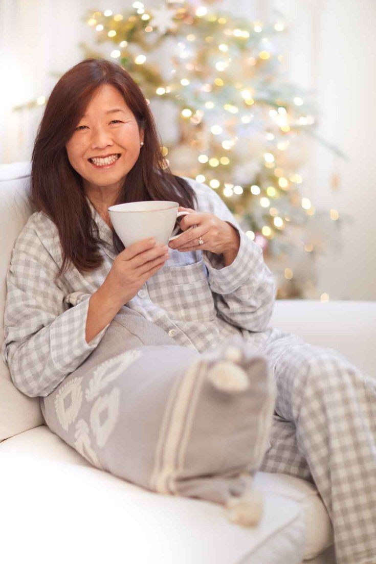 I love these wonderful flannel pajamas. They are thick, warm and cozy.
