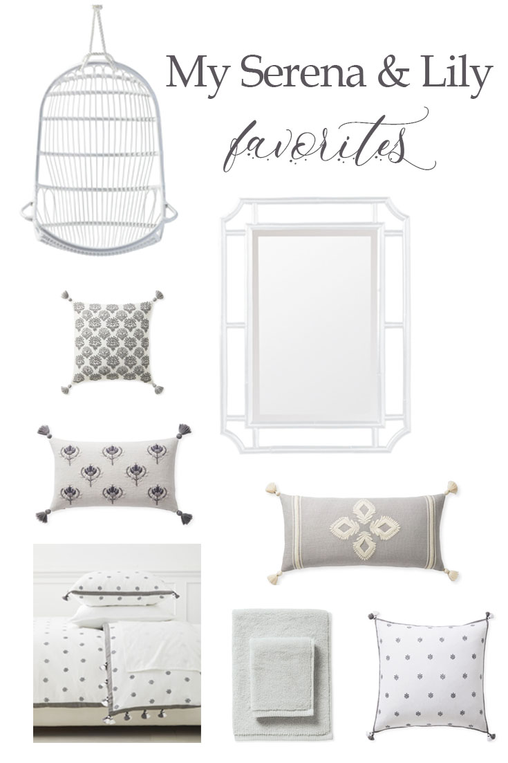 Here are my favorite Serena & Lily picks. Their home decor is fabulous and all their products are so well made. Check out my favorites and why I love them.
