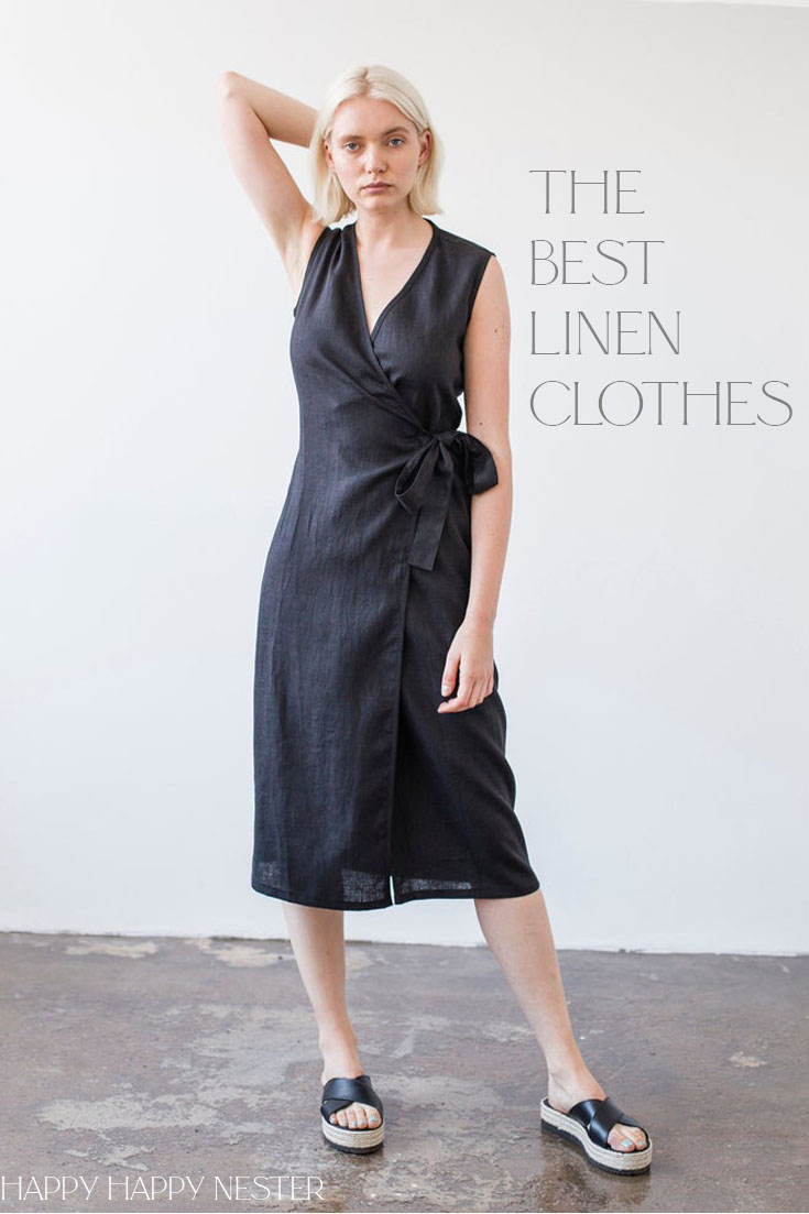 beautiful linen clothes from Europe pin