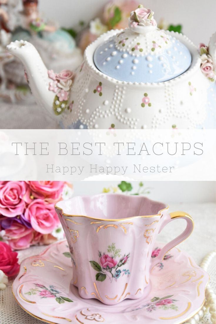 The best beautiful teacups for a tea party pin