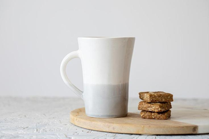 beautiful handmade coffee mugs