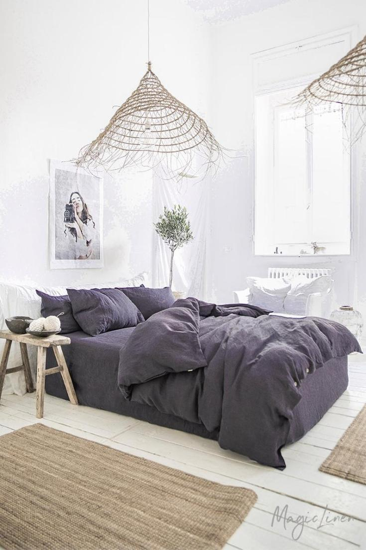 beautiful linen bedding made in Lithuania