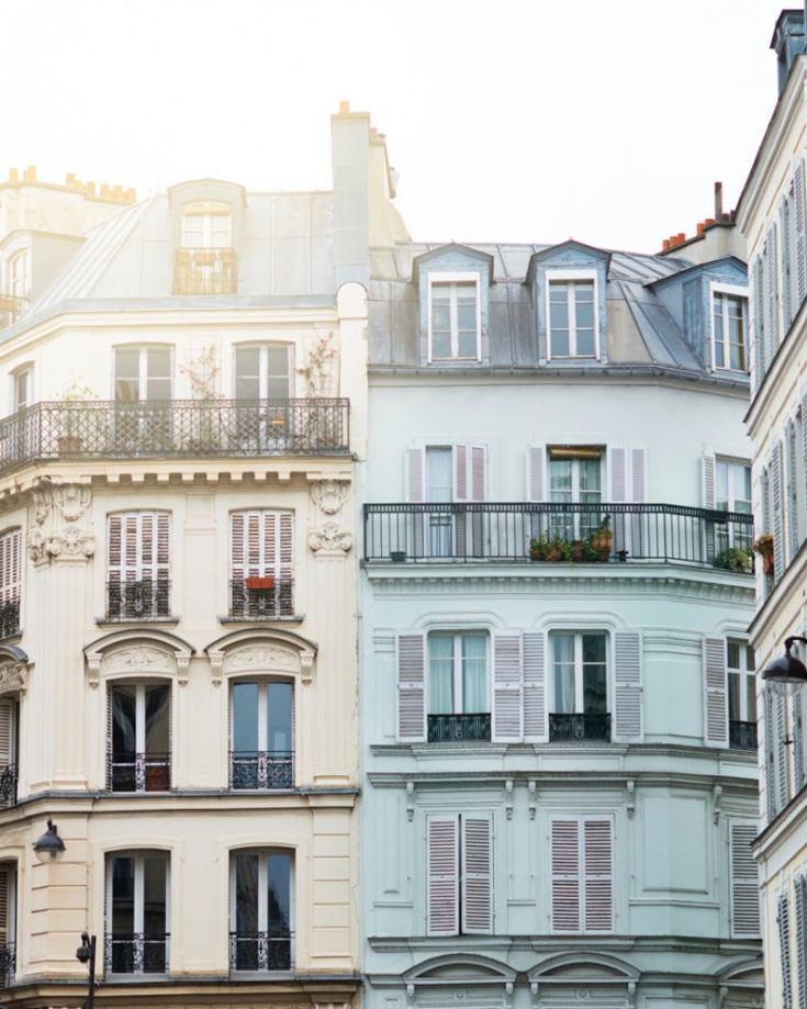 Montemarte neighborhood in Paris France