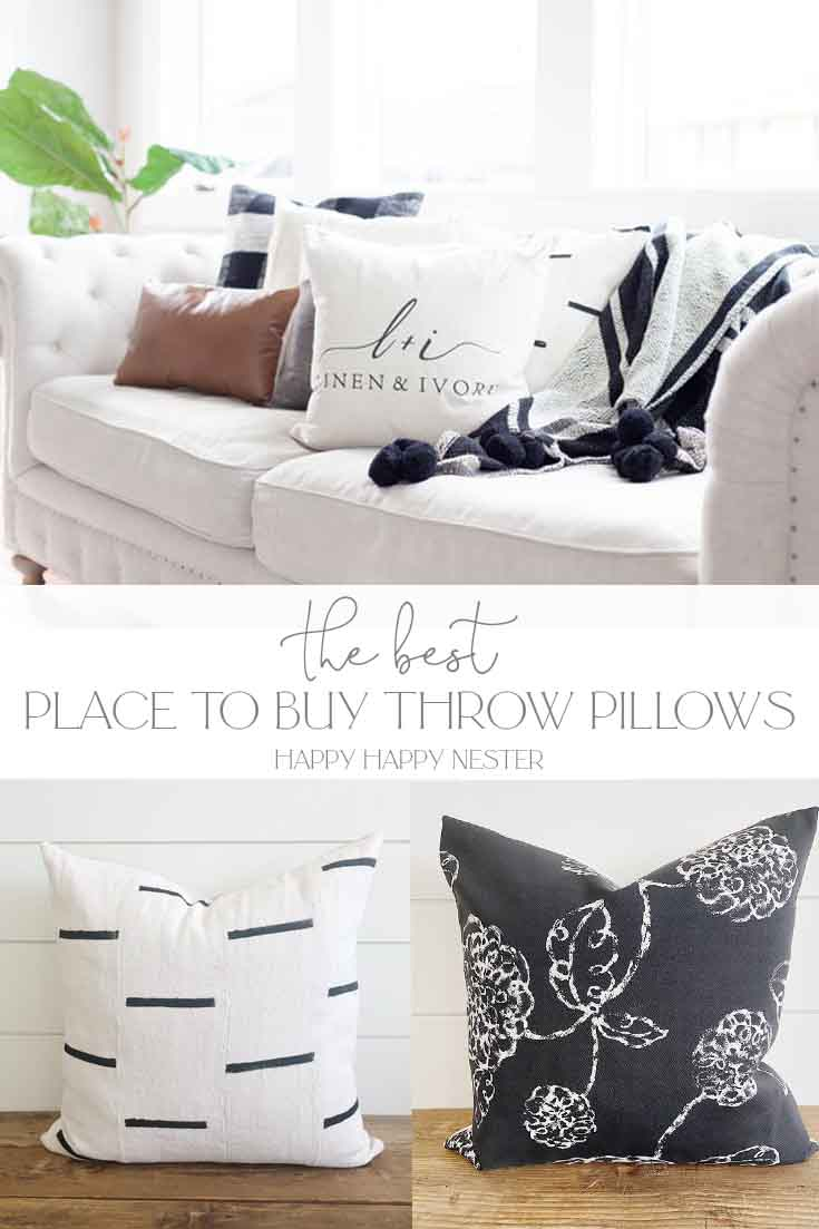 the best place to buy throw pillows pin