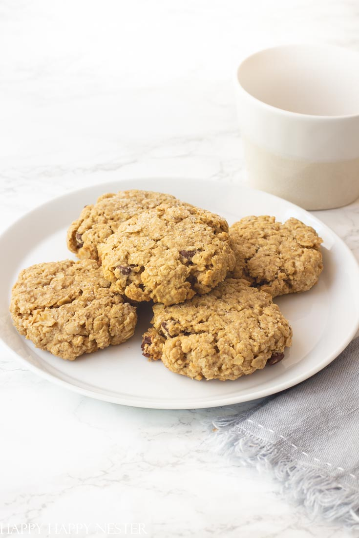 this big thick oatmeal cookie recipe is the best