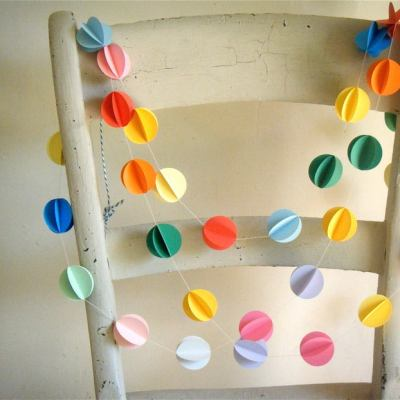 Pretty Paper Garlands Online