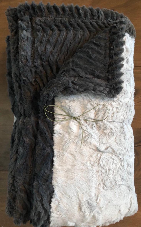 faux fur minky blanket