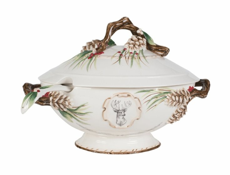 fitz and floyd soup tureen