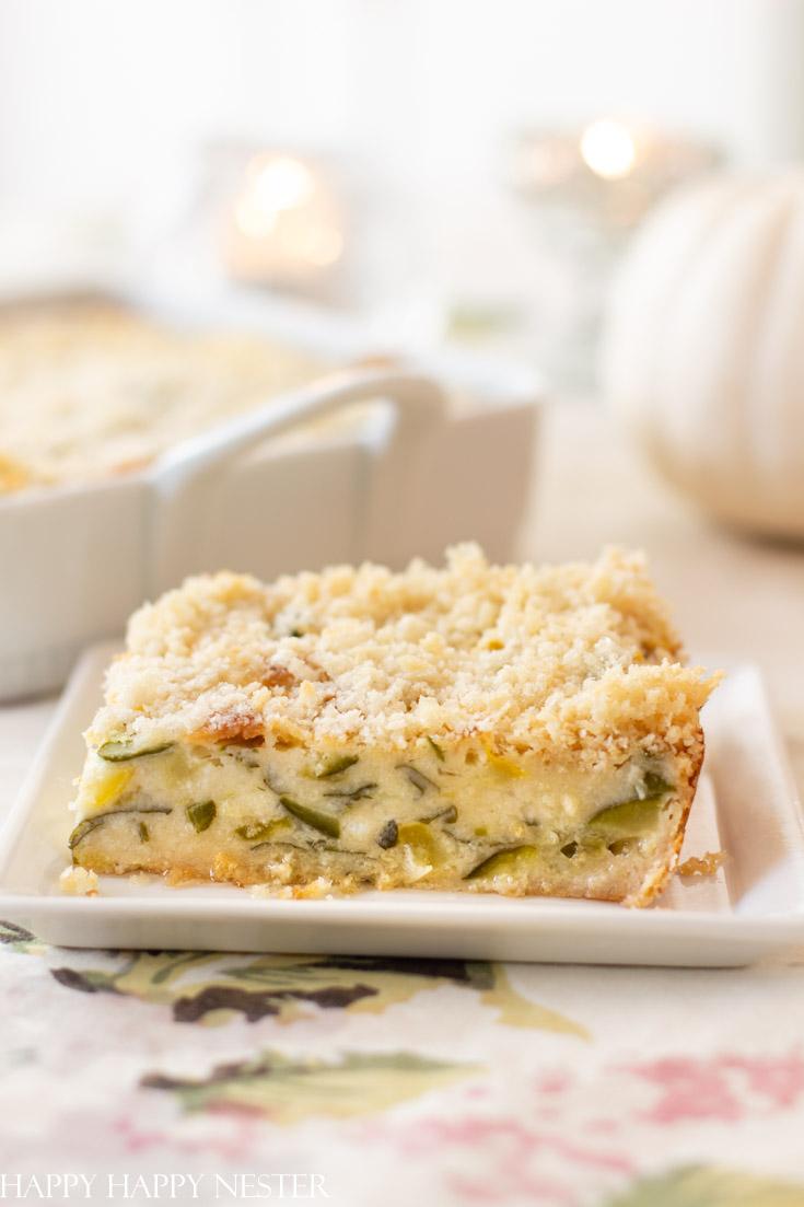 zucchini casserole recipe with panko topping
