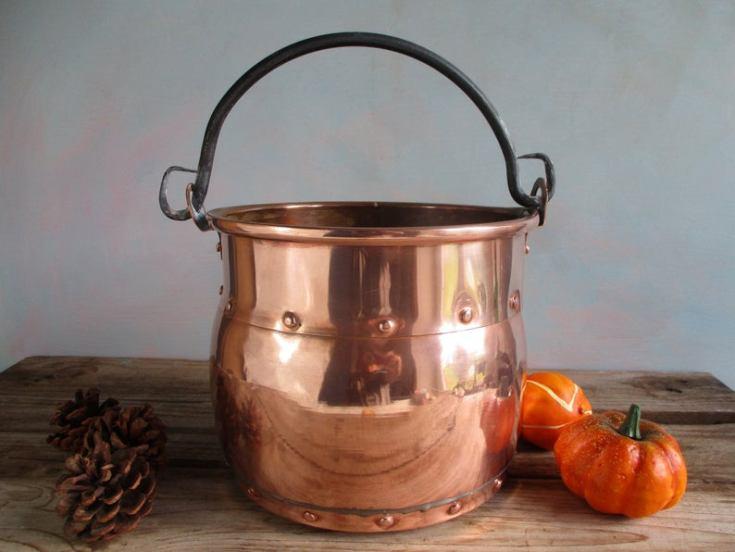 antique copper decor