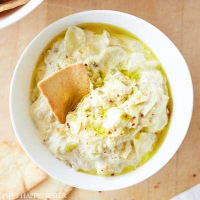 The Best Artichoke Dip Recipe (Easy)
