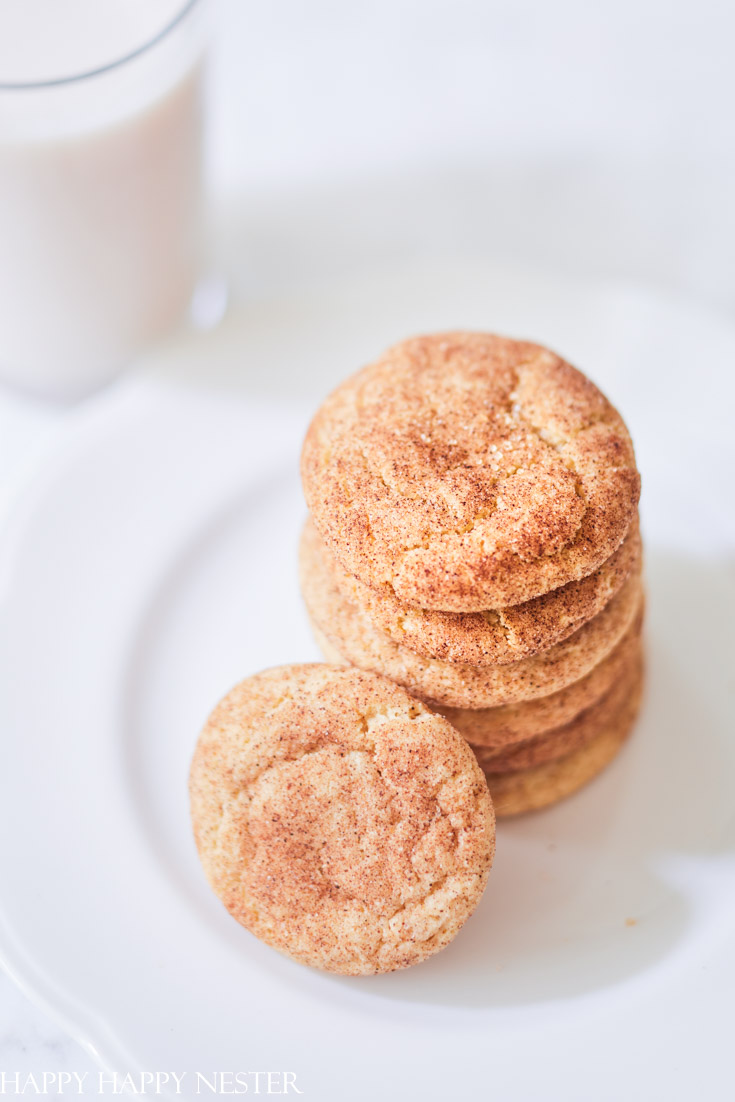 This is the Best Pumpkin Snickerdoodle recipe that is soft and chewy.