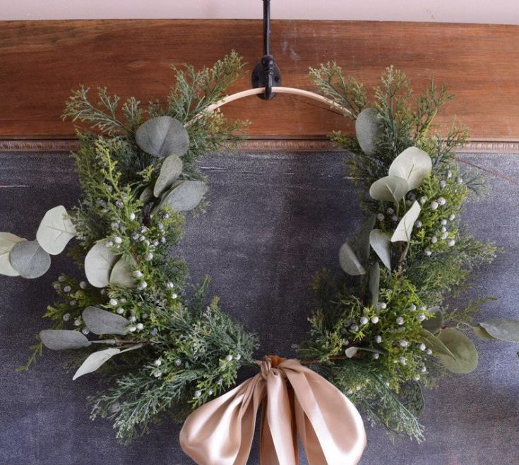 handmade wreaths for christmas