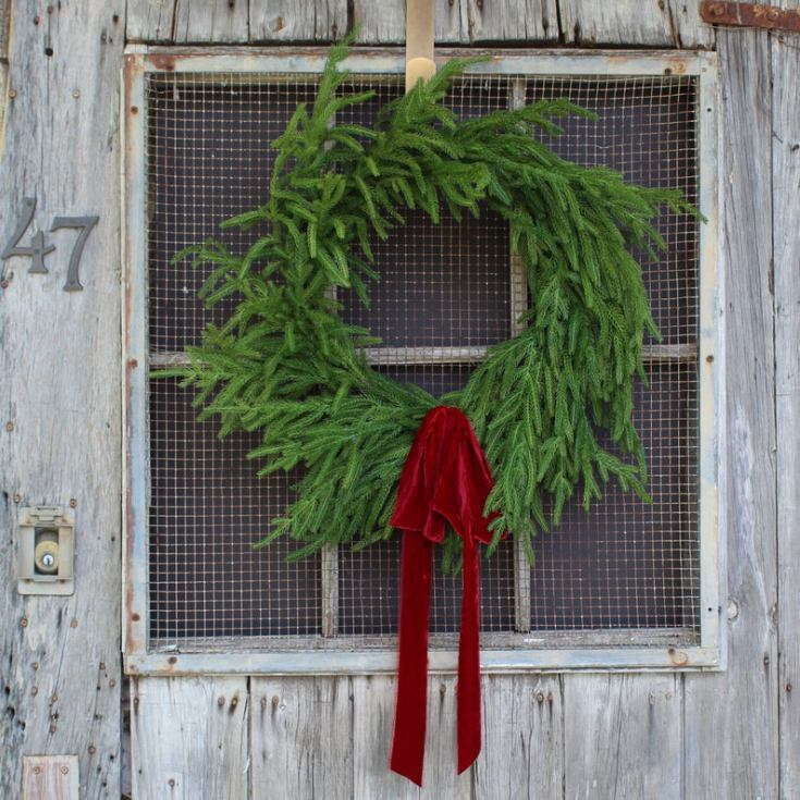 fir christmas wreath