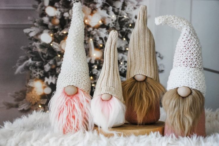 Christmas gnomes nordic style