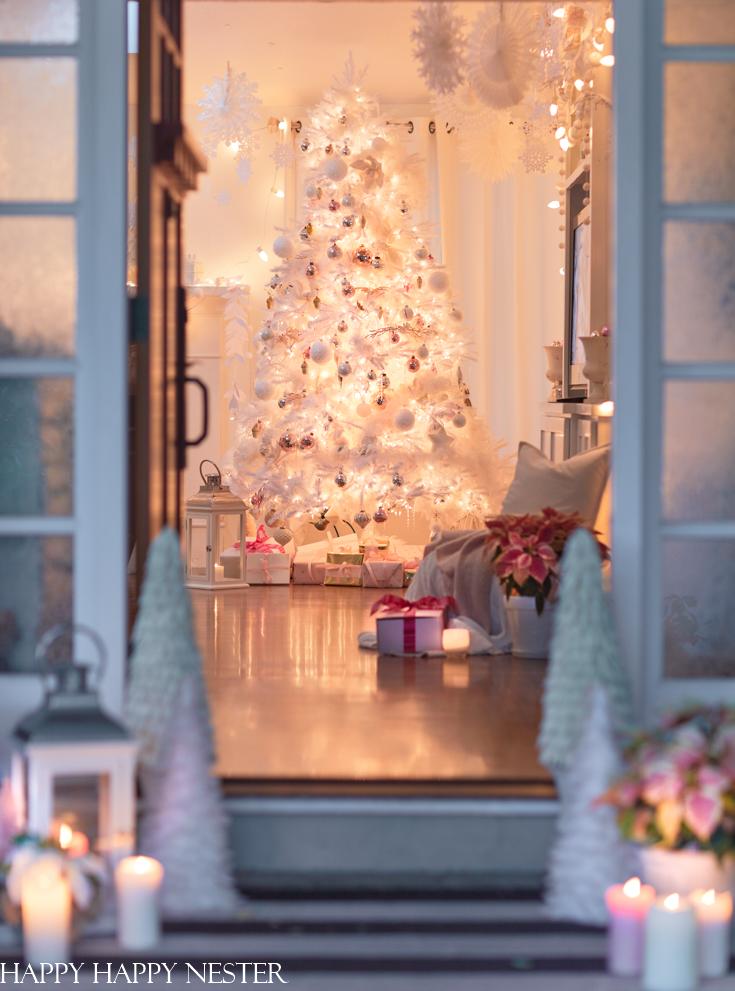 크리스마스 하우스 투어를위한 집