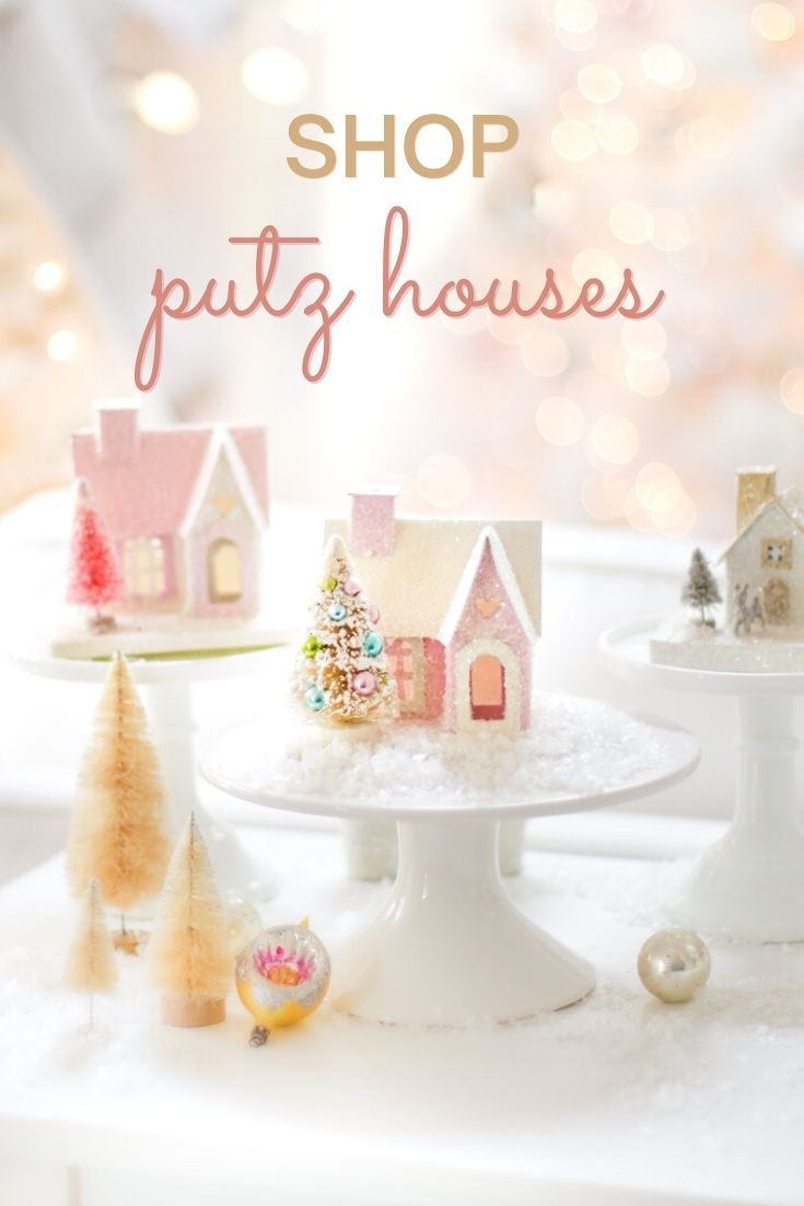 오늘 Miniature Paper Houses : Putz Houses를 확인하세요.  20 개 이상의 사전 제작 된 Putz 하우스와 DIY 키트를 모았습니다.