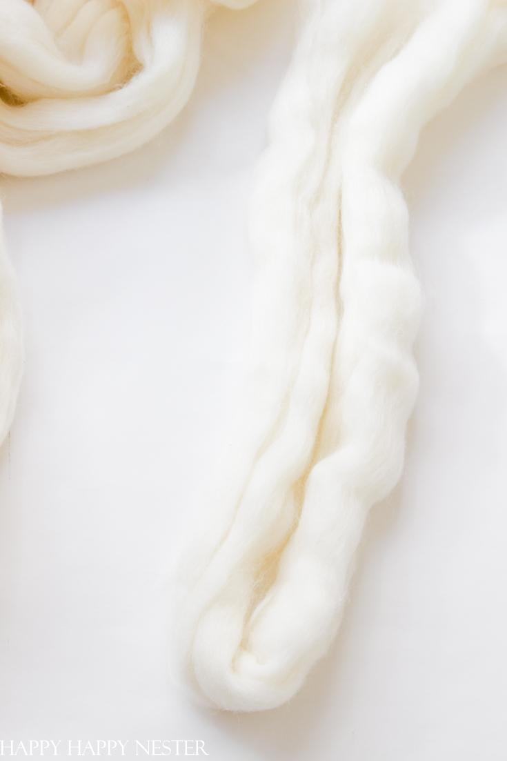 yarn wreath tutorial