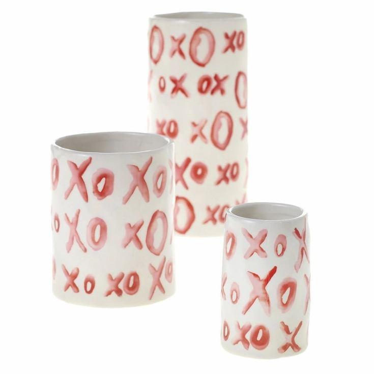 cute xoxo vases