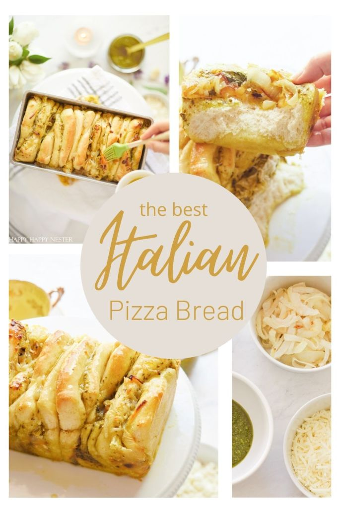 italian pizza bread recipe pin