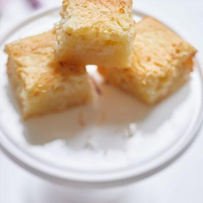 Butter Mochi Recipe (Mochiko Flour)