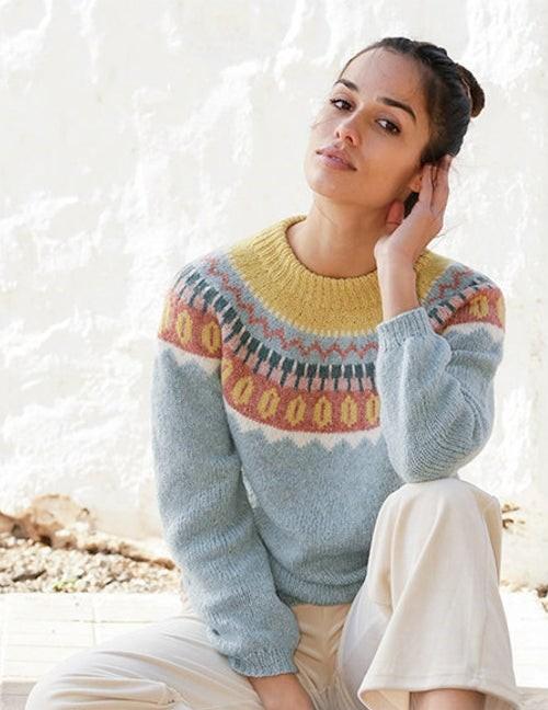 fair isle hand knit sweaters