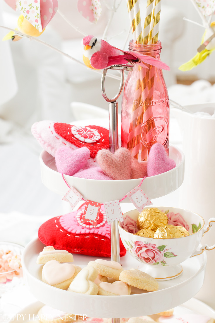 pretty valentine's decorating ideas