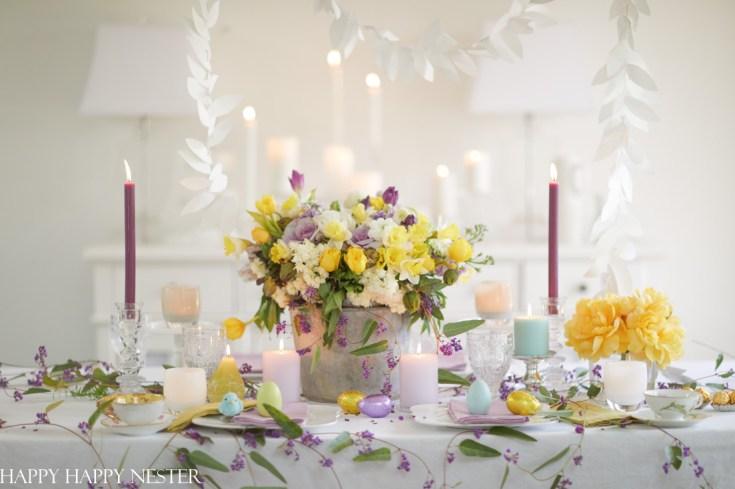 how to arrange a pretty spring floral arrangement