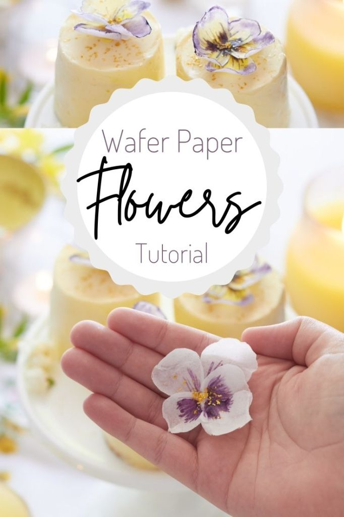wafer paper flowers tutorial pin