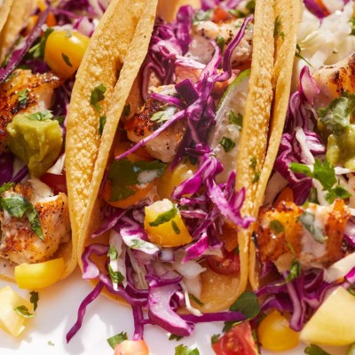Easy Cod Fish Tacos (with Homemade Taco Sauce)