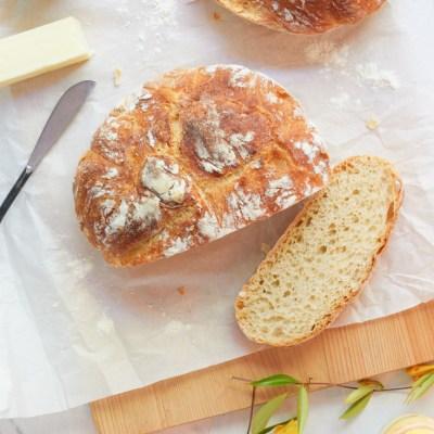 New York Times No-Knead Bread Recipe