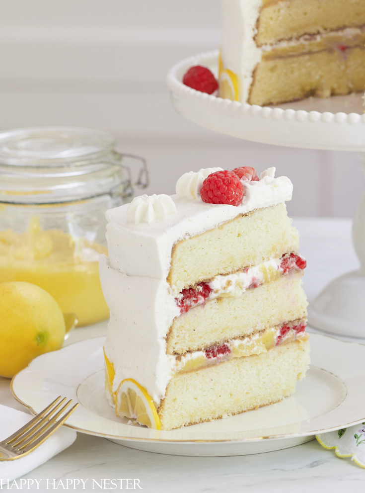 Chantilly cream cake