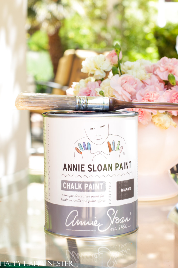 annie sloan chalk paint on metal