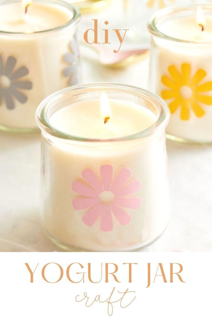 oui yogurt jars crafts
