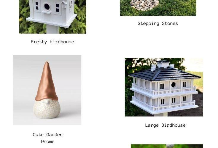 garden decor ideas image
