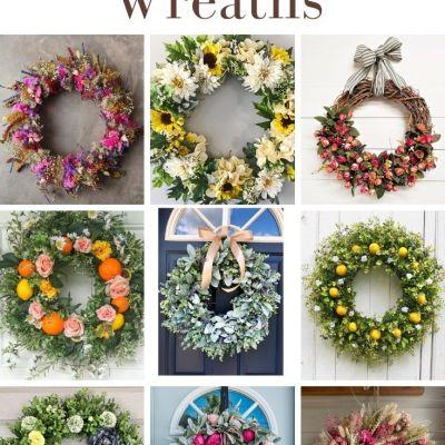 Summer Wreaths for the Front Door