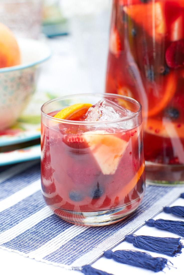 fruity sangria recipe