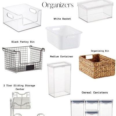 Kitchen Cabinet Storage Organizers