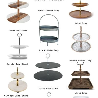 The Best Two Tiered Cake Stands