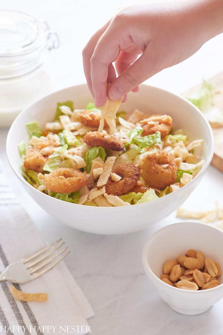 crispy calamari salad recipe