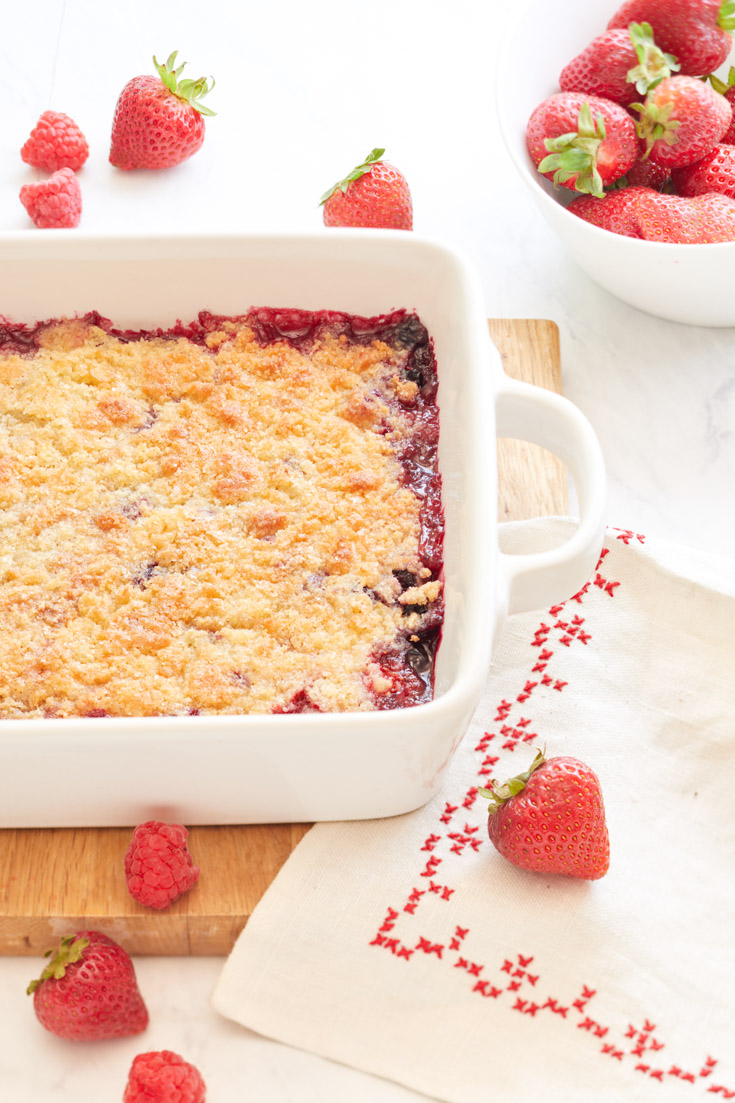 berry cobbler recipe
