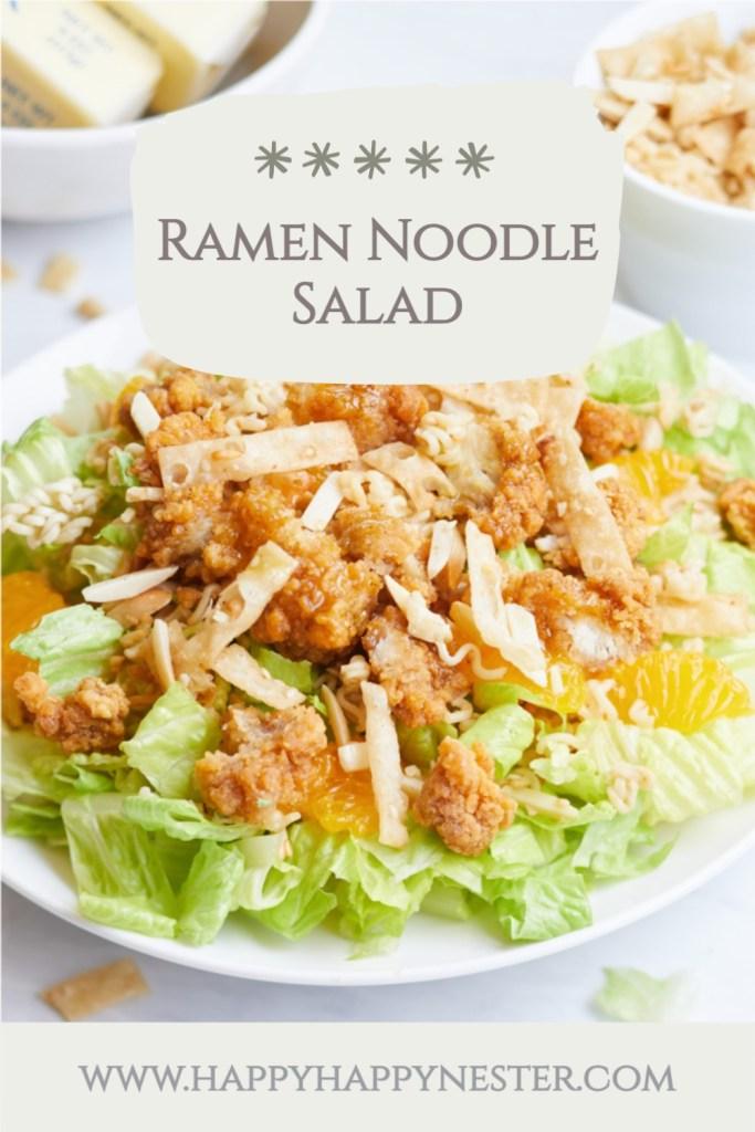 ramen noodle salad pin